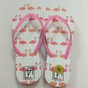 Other - Flamingo Rubber Beach Thong Flipflops Shoes